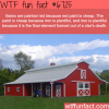 why barns are painted red wtf fun fact