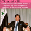 why detroit gave saddam hussein the key to the