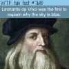 why is the sky blue wtf fun fact