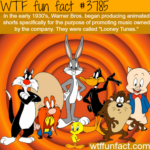 "Why ""Looney Tunes"" was created - WTF fun facts"