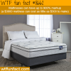 why mattresses cost so much money wtf fun facts