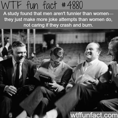 Why men are funnier than women? -