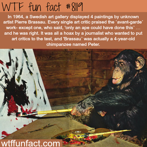 Why modern art critics are bullshitting you - WTF fun facts