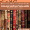 why old book smell the way they are wtf fun