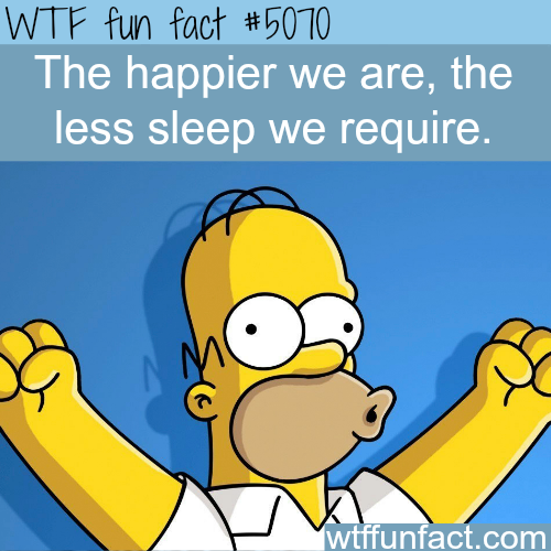 Why some people sleep a lot - WTF fun facts