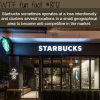 why starbucks opens all their stores in one place