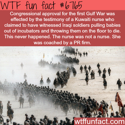 Why war is bullshit - WTF fun fact