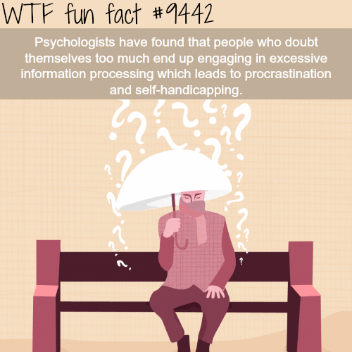 Why you shouldn't doubt yourself - WTF fun fact