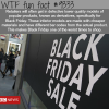 why you shouldnt shop on black friday wtf facts