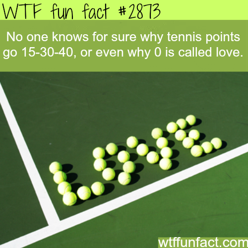 Why zero is called love in tennis? -  WTF fun facts