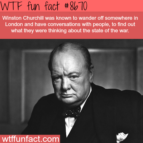 Winston Churchill - WTF fun facts