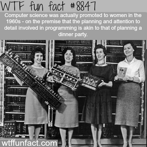Women in Computer Science - WTF fun facts