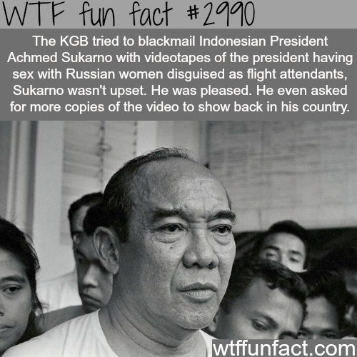 World Leaders Facts -  WTF fun facts