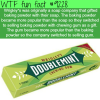 wrigleys wtf fun fact