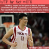 yao ming first game in miami wtf fun facts