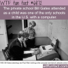 young bill gates and paul allen in lakeside school