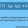 youngest partents