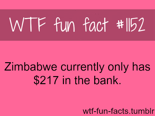 Zimbabwe currency - bank