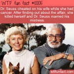 WTF Fact - Dr. Seuss was a cheater