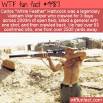 wtf fun fact - original american sniper
