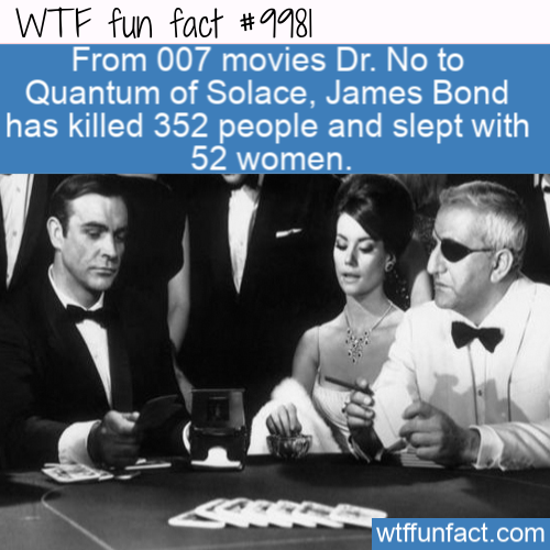 Fun Movie Fact Unstoppable James Bond