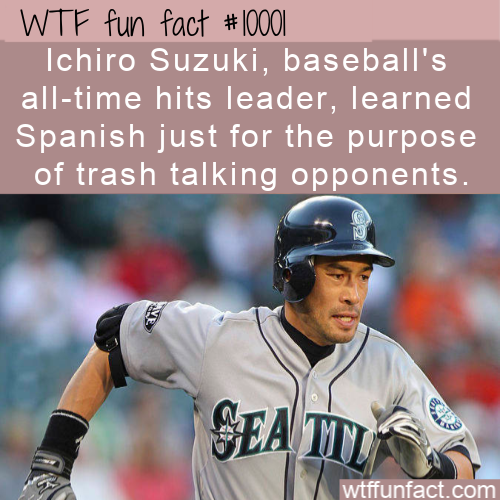 WTF Fun Fact - Learned Spanish To Trash Enemy
