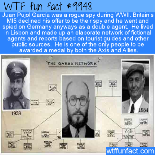 fun fact fake spy