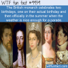 Fun Fact – British Monarchs Birthdays