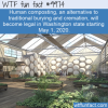 WTF Fun Fact – Human Composting