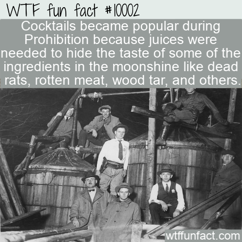 wtf fun fact moonshine ingredients