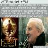 WTF Fact – Tolkien Bad Storyteller
