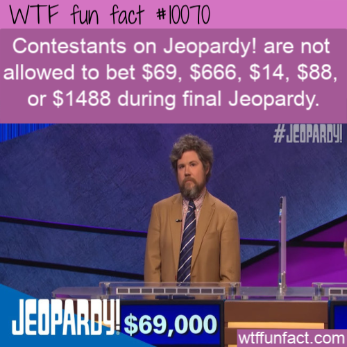 WTF Fun Fact - Banned on Jeopardy!
