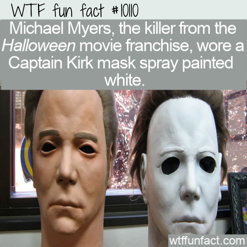 WTF Fun Fact - Captain Kirk Mask(2)
