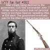 WTF Fun Fact – Buy Your Own Rifle