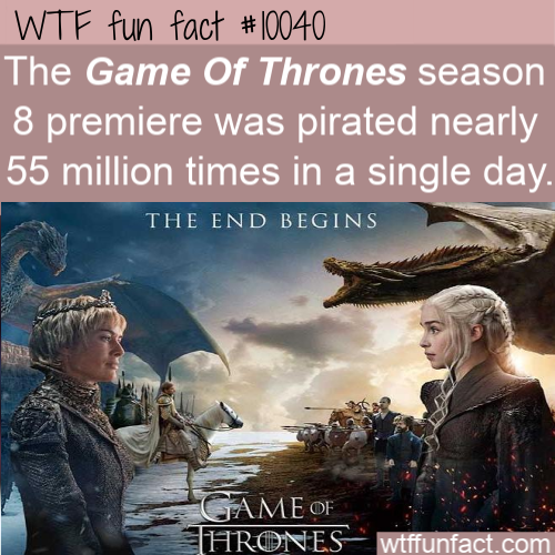 WTF Fun Fact - Game Of Thrones Pirates