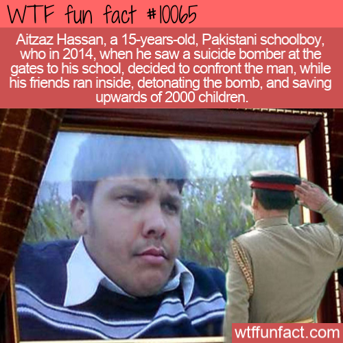 WTF Fun Fact - Genuine Altruism
