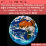 WTF Fun Fact - Healing Detected Of Ozone Layer(1)