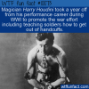 WTF Fun Fact – Helpful Houdini