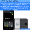 WTF Fun Fact – Iphoney