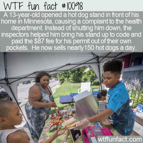 WTF Fun Fact - Kid's Hot Dog For $2(1)