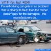 WTF Fun Fact – Self Driving Crash