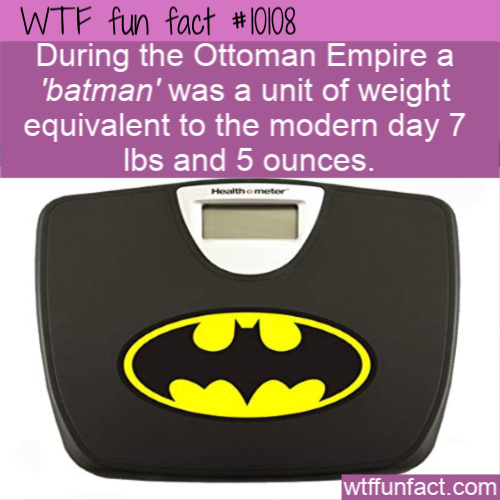 WTF Fun Fact - Ottoman Empire Batman