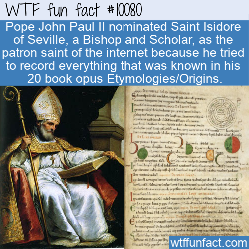 WTF Fun Fact - Patron Saint Of The Internet