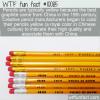 WTF Fun Fact – Yellow Pencils