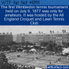 WTF Fun Fact – Wimbledon For Amateurs