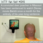 WTF Fun Fact - Bambi Punishment