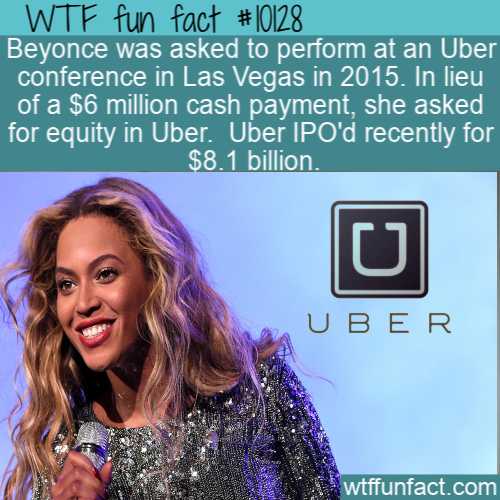 WTF Fun Fact - Brainy Beyonce