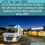 WTF Fun Fact - Cooking Oil used As Fuel!