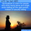 WTF Fun Fact – Quirkyalone
