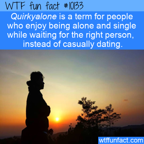 WTF Fun Fact - Enjoy Being Alone(2)